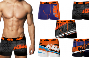 Pack 5 calzoncillos KTM en varios colores para hombre