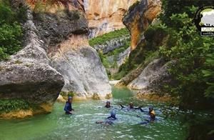 Barranquismo en La Garganta Verde