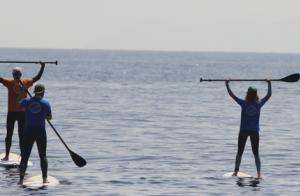 Practica Paddle Surf en Getares