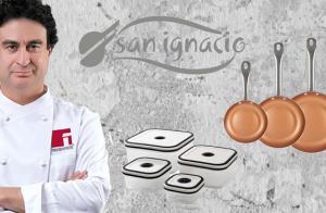Set 3 sartenes + 4 fiambreras San Ignacio