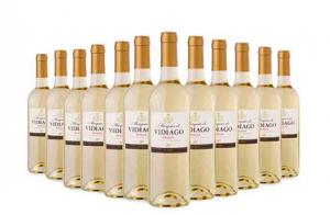 3, 6 o 12 botellas de vino blanco Rioja Marqués de Vidiago