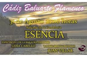 Entradas Cádiz Baluarte Flamenco 31 de agosto