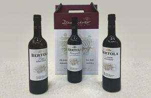 Pack 3 botellas Bertola de Bodega Díez Merito