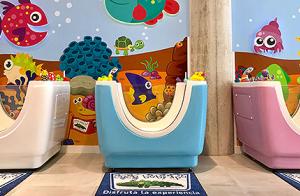 Sesión de spa con masaje para bebés