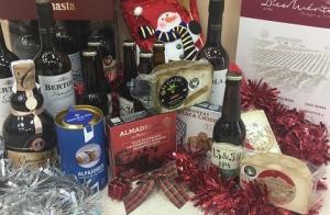 Lote productos gaditanos para Navidad