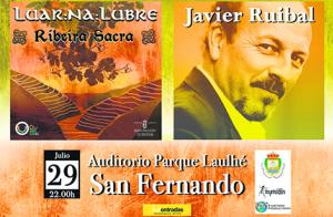 Luar Na Lubre y Javier Ruibal en San Fernando