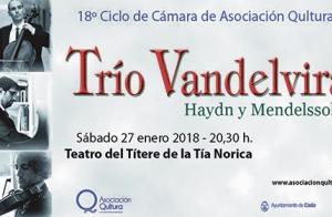 18º Ciclo de Música de Cámara: Trio Vandelvira