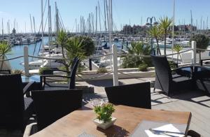 Menú en La Terraza de Puerto Sherry